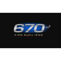 Logo of radio station KIRN Radio Iran 670 AM