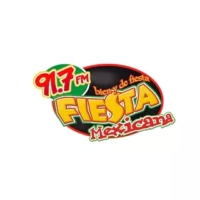 Logo of radio station XHPAV Fiesta Mexicana 91.7 FM