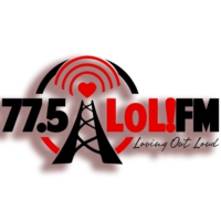 Logo of radio station 77.5 LoL!FM