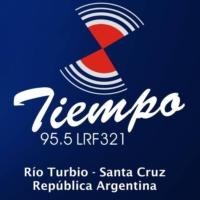 Logo de la radio FM Tiempo 95.5 MHz