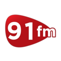 Logo of radio station 91 FM