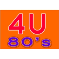 Logo of radio station 4U 80s