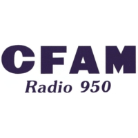 Logo of radio station CFAM Radio 950