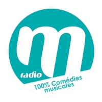 Logo of radio station M Radio 100% Comédies Musicales