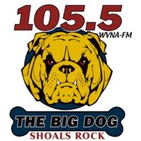 Logo de la radio WVNA-FM ROCK 105.5