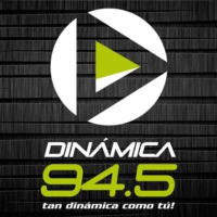 Logo of radio station Dinámica 94.5 FM
