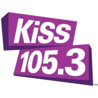 Logo of radio station CISS-FM KISS 105.3