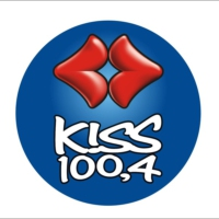 Logo de la radio KISS FM 100.4