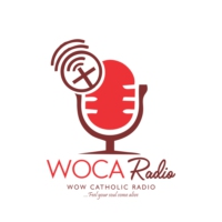 Logo de la radio WOCA Radio - wowcatholic