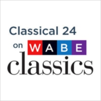 Logo of radio station WABE Classical 24