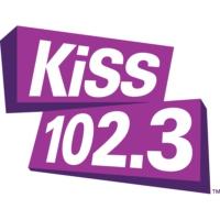 Logo of radio station CKY-FM KiSS 102.3