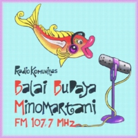 Logo of radio station BBM FM