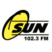 Logo of radio station CHSN Sun 102FM
