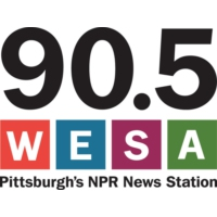 Logo of radio station 90.5 WESA