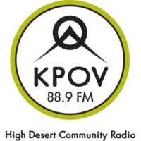 Logo of radio station KPOV 88.9 FM
