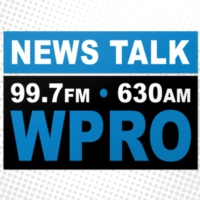 Logo of radio station NewsTalk 99.7 & AM 630 WPRO