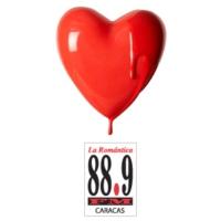 Logo of radio station La Romantica 88.9 FM