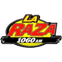 Logo de la radio XERDO-AM La Raza 1060