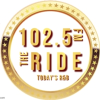 Logo de la radio 102.5 FM The Ride