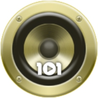 Logo of radio station 101.ru - ABBA