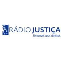 Logo de la radio Rádio Justiça