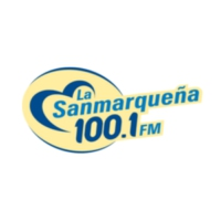 Logo de la radio XHARZ La Sanmarqueña 100.1 FM