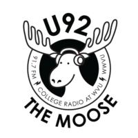 Logo de la radio WWVU U92 The Moose