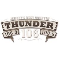Logo de la radio WTHJ 106.5 Thunder 106