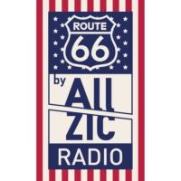 Logo of radio station Allzic Radio Road66