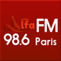 Logo of radio station Radio Alfa - 98.6 FM Paris