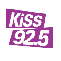 Logo of radio station CKIS-FM KiSS 92.5