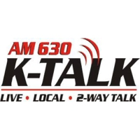 Logo of radio station KTKK K-Talk 630
