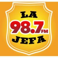 Logo of radio station XHEMY La Jefa 98.7.1 FM