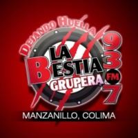 Logo of radio station XHZZZ La Bestia Grupera 93.7 FM
