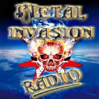 Logo de la radio Metal Invasion Radio