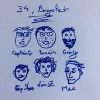 Logo of radio station 34 Bagnolet