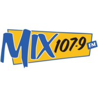 Logo of radio station CKFT-FM Mix 107.9 FM