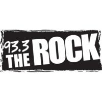 Logo of radio station CJHD-FM 93.3 The ROCK