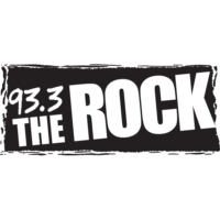 Logo of radio station CJHD-FM 93.3 The ROCK