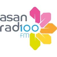 Logo of radio station Asan Rad100 fm