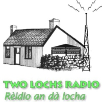 Logo of radio station Two Lochs Radio / Rèidio Dà Locha