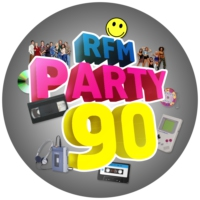 Logo of radio station RFM Party 90