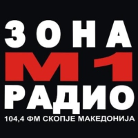 Logo of radio station Зона М1 РАДИО