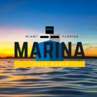 Logo of radio station Marina Rock Radio