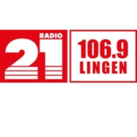 Logo of radio station RADIO 21 - Lingen