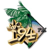 Logo of radio station KUAM i94-FM