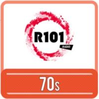 Logo of radio station R101 70