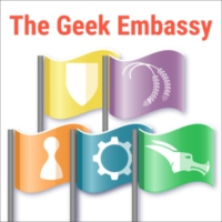 Logo of the podcast The Geek Embassy