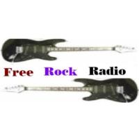 Logo of radio station FreeRockRadio