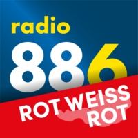Logo of radio station radio 88.6 - ROT-WEISS-ROT